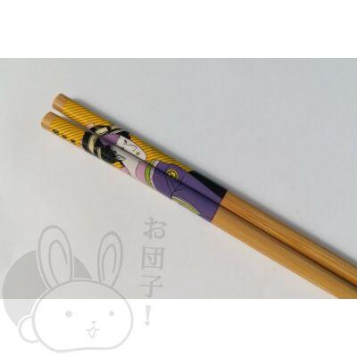 Japán mintás evőpálcika citromsárga