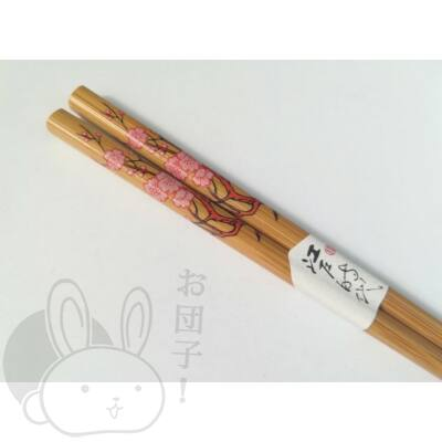 Japán mintás evőpálcika virágos