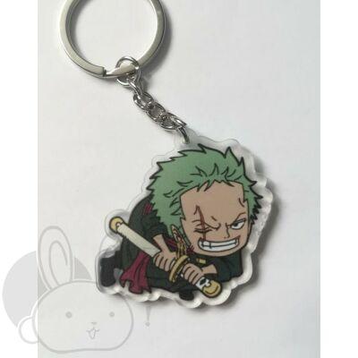 One Piece kulcstartó Zoro