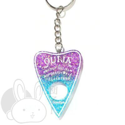 Ouija szellemidéző tábla kulcstartó lavender