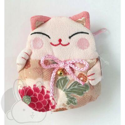 Szerencsecicás pénztárca rózsaszín