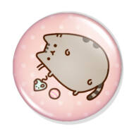 Pusheen cica kitűző 1