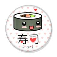 Sushi kitűző 2