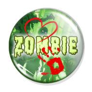 Zombi kitűző 1
