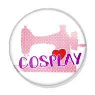 I love cosplay kitűző 1