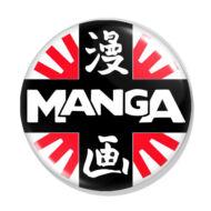 Manga kitűző 2