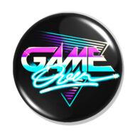Game Over kitűző