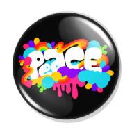 Peace kitűző 1