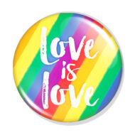 Love is Love kitűző 1