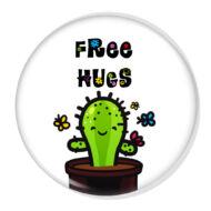 Free Hugs XL kitűző 4
