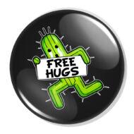 Free Hugs XL kitűző 5