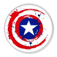 Amerika kapitány pajzs XL kitűző