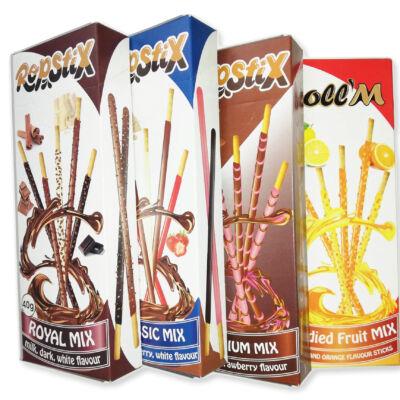 Ropstix csokoládéval bevont ropi 4 ízben