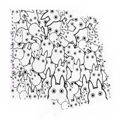 Totoro montázs A5 -ös füzet