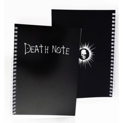 Death Note mintás A5-ös füzet