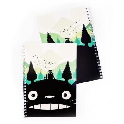 Totoro mintás A5-ös füzet