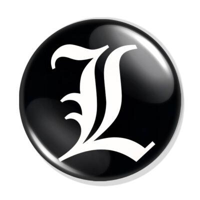 Death Note kitűző 16
