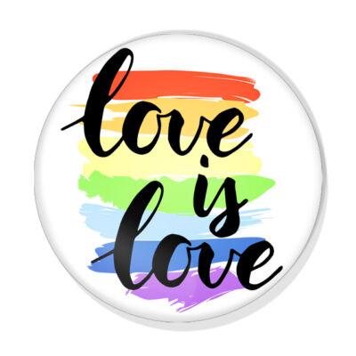 Love is Love kitűző 2