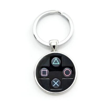 Playstation D-pad kulcstartó