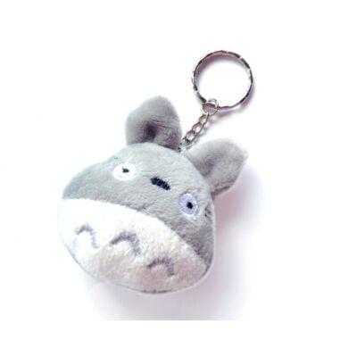 Mini Totoro plüss kulcstartó