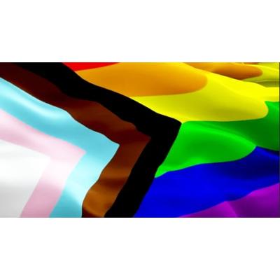 XXL Modern Szivárvány zászló 1,5m x 9