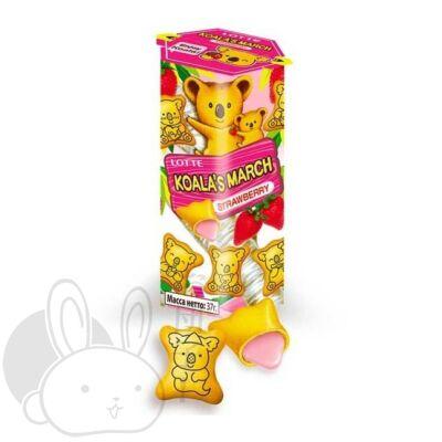 Lotte Koala's march keksz eper ízű