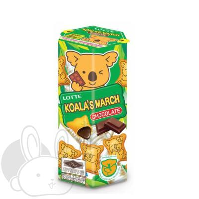 Lotte Koala's march keksz csoki