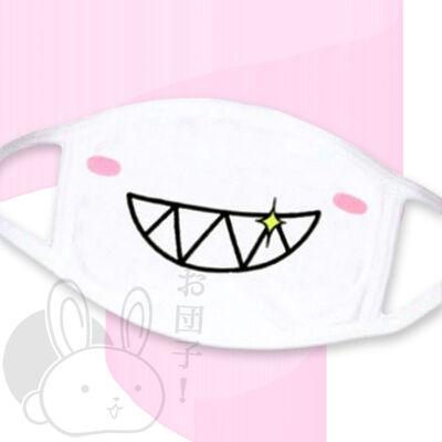 Széles mosoly szájmaszk 2