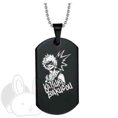 Bakugo nyaklánc fekete
