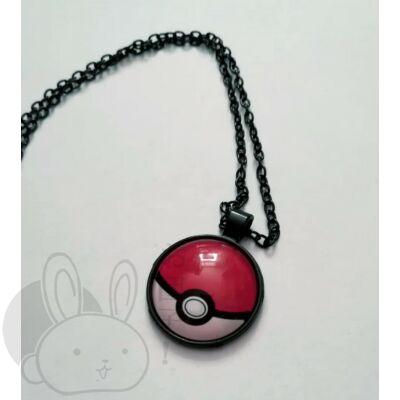 Pokémon nyaklánc labda