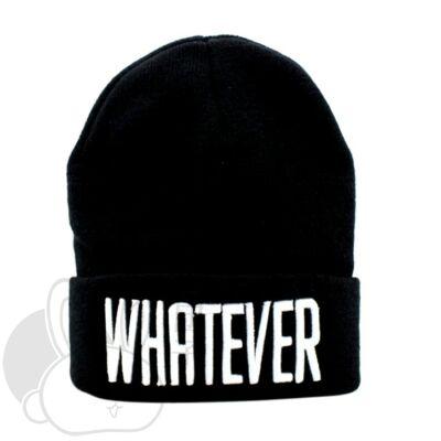 Whatever sapka fekete