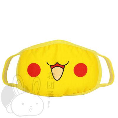 Szájmaszk Pikachu