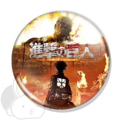 Attack on Titan kitűző 1