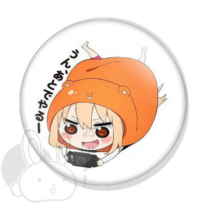 Umaru-chan kitűző 2