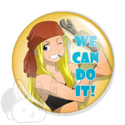 We can do it kitűző 1