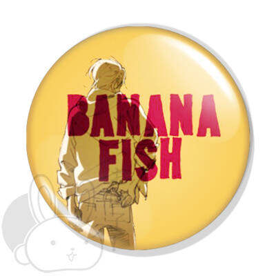 Banana Fish kitűző 1