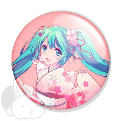 Vocaloid Hatsune Miku kitűző 1