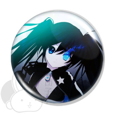Black Rock Shooter kitűző 2