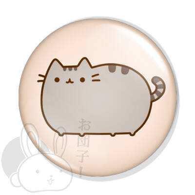 Pusheen cica kitűző 2