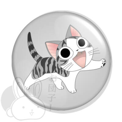 Chi cica kitűző 1