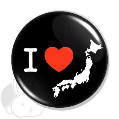 Japán kitűző 2