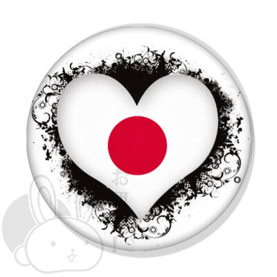Japán kitűző 6