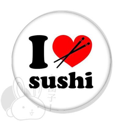 I love szusi kitűző 1