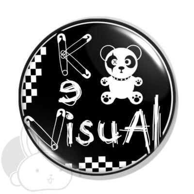 Visual kei kitűző 2