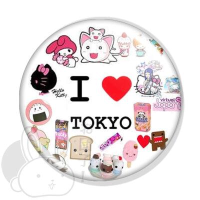 I love Tokyo kitűző 1