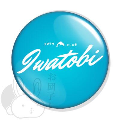 Iwatobi swim club kitűző