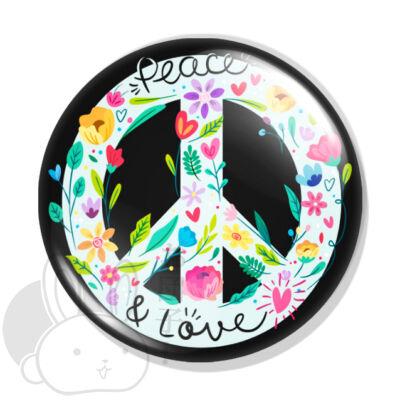 Peace kitűző 2