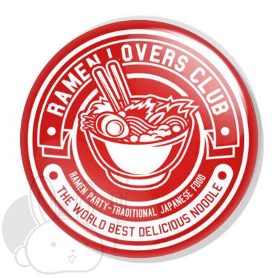 Ramen lovers club XL kitűző