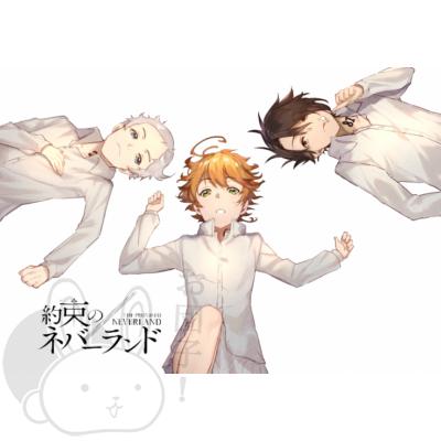 Yakusoku no Neverland poszter 4
