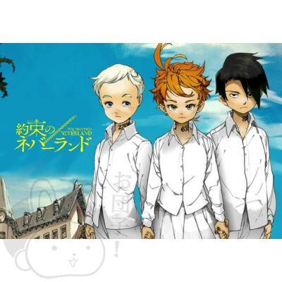 Yakusoku no Neverland poszter 7